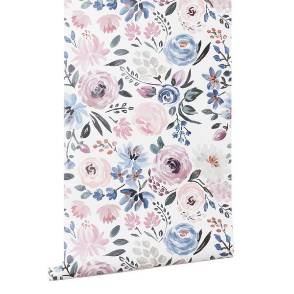 Caitlin Wilson Floral Wallpaper   With Love, Vienna Lyn