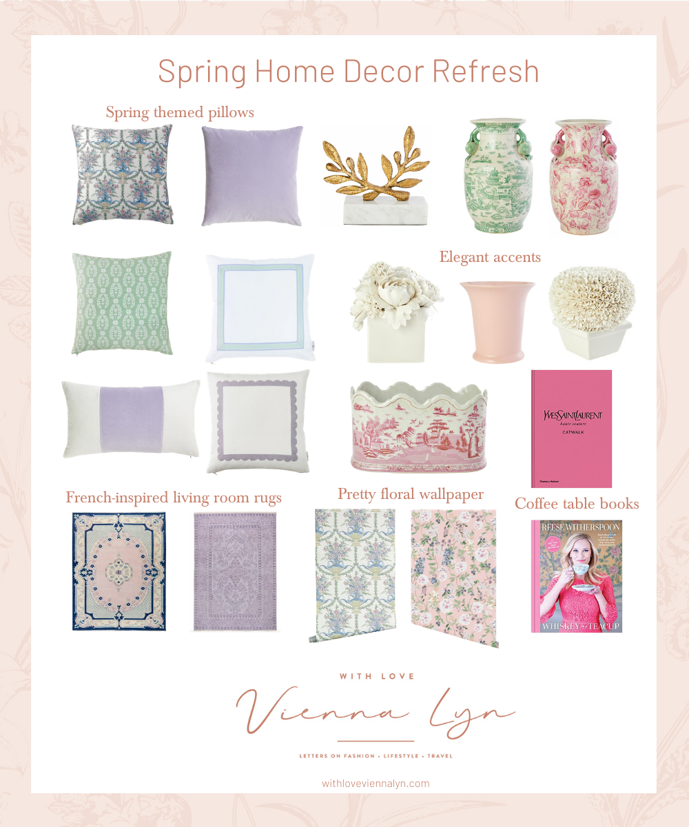 Spring Home Decor Refresh | With Love, Vienna Lyn